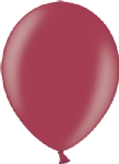 "12"" Metallic Ruby Wine Latex Balloon"